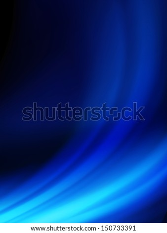 Blue smooth twist light lines background. EPS 10 vector file included - stock vector
