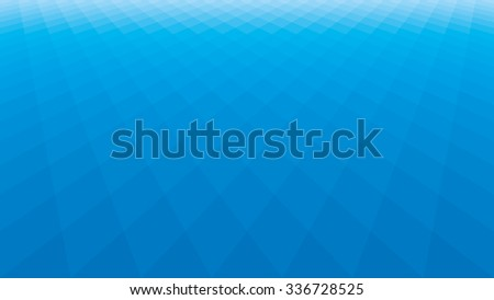 Blue squares background. EPS8. No transparency, no gradients. - stock vector