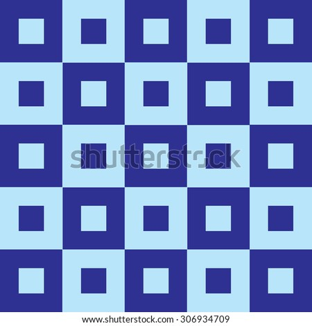 Blue Tapestry Fabric Background that is seamless and repeats - stock vector