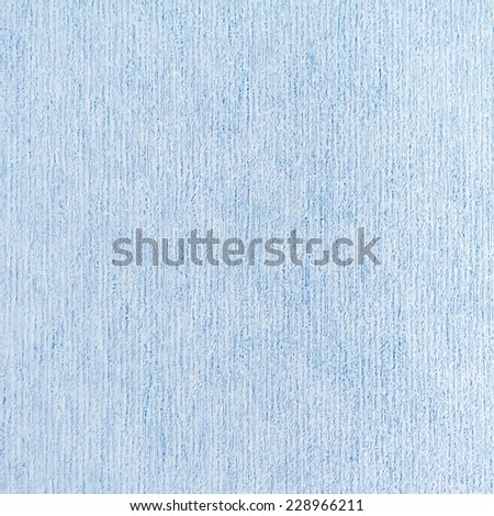 Blue textured paper vector background. Grunge paper texture for your design. - stock vector