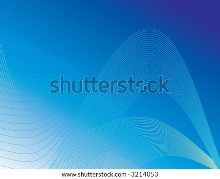 Blue trendy vector background. Can be used for many things - including ads and websites. - stock vector