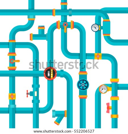 blue ware pipes background system symbol stock vector 2018 rh shutterstock com vector pipeline limited partnership vector pipeline expansion