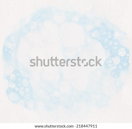 blue water and foam. vector illustration suds - stock vector