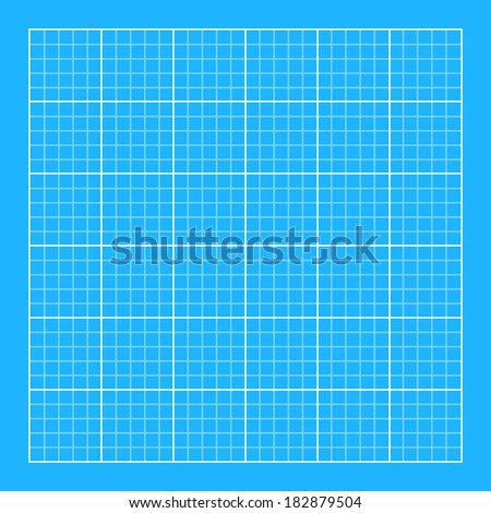Blueprint background classic style flat color vector de blueprint background classic style flat color white grid with blue background malvernweather Gallery