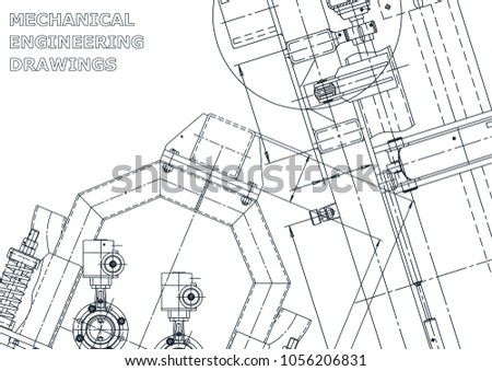 Blueprint sketch vector engineering illustration cover stock vector blueprint sketch vector engineering illustration cover flyer banner background malvernweather Choice Image