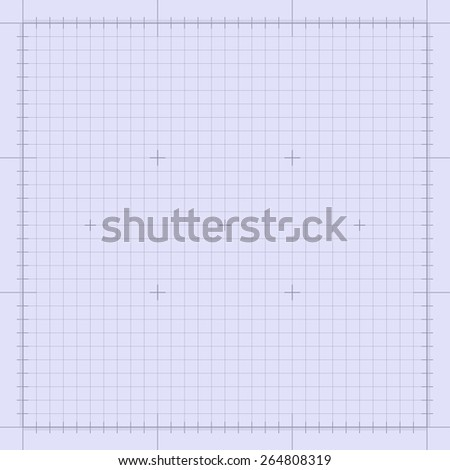 Blueprint technical grid background. Graphing engineering paper in vector format eps10 - stock vector