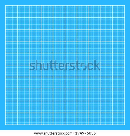 Blueprint texture - 10x10. Easy to edit. Vector illustration - EPS10. - stock vector