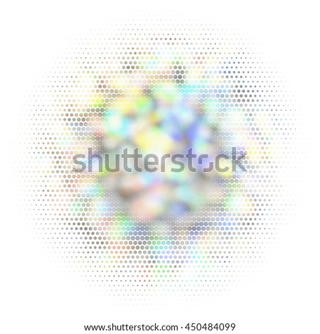 Blurred abstract background. Vector EPS10. Not trace image, include mesh gradient only