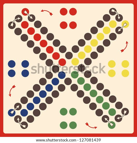 board - game - stock vector