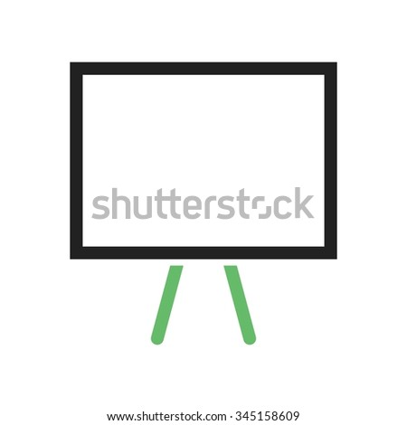Board, office, business icon vector image. Can also be used for office. Suitable for web apps, mobile apps and print media.