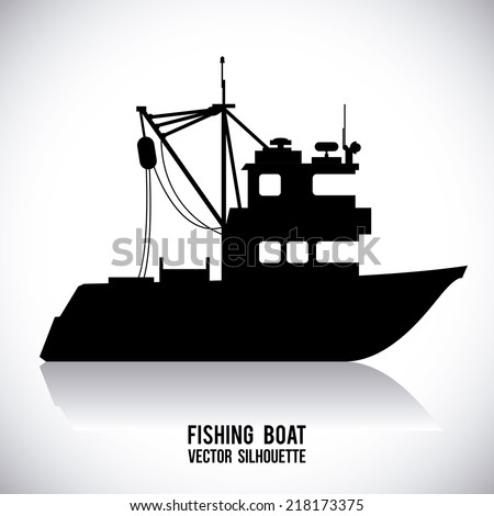 boat graphic design , vector illustration
