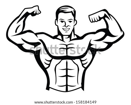 Doors Cad Blocks Plan further Puzzles also Thing as well 4 moreover Bodybuilder Flex Heavy Barbell 68876365. on gym drawing