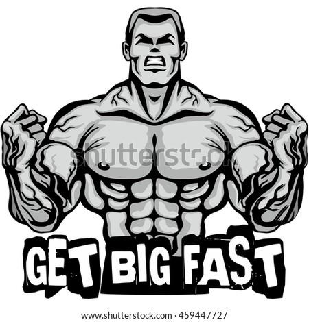 Bodybuilder Design Tshirts Stock Vector 459447727