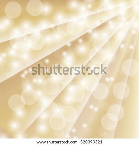 bokeh defocused ray lights - stock vector