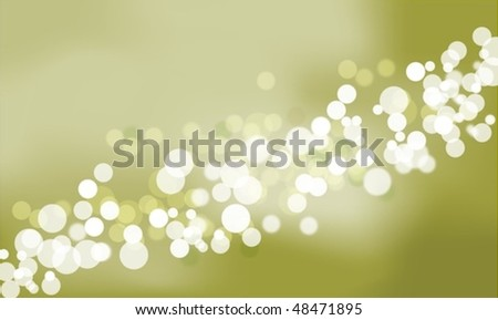 Bokeh Lights with copy space - stock vector
