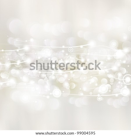 Bokeh watercolor background vector - stock vector