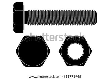 black bolt head stock images royaltyfree images