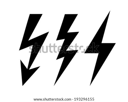 Bolt icon - stock vector