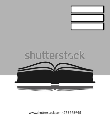 book - stock vector