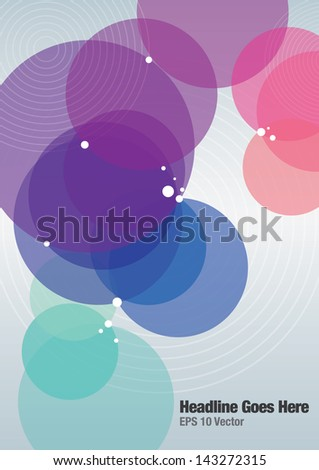 Book cover/Background design/Graphics - stock vector