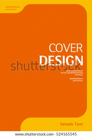 book cover design template