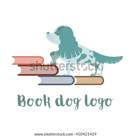 Book dog logo