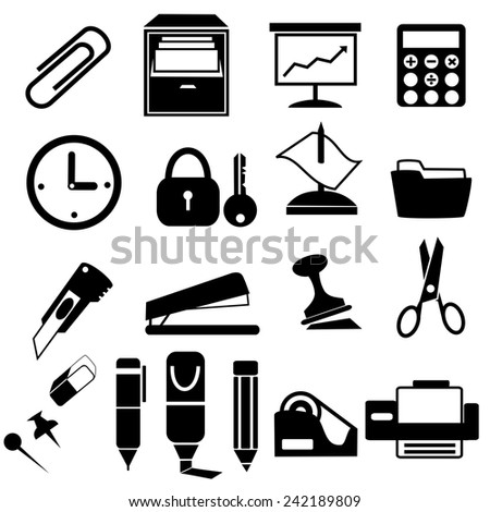 Book  icons.vectors - stock vector