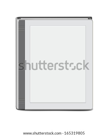 Book Template - stock vector