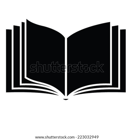 book template. vector illustration - stock vector