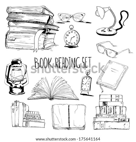Books Reading Set Glasses L  Clock 175641164 further  on magnifying lamp wiring diagram