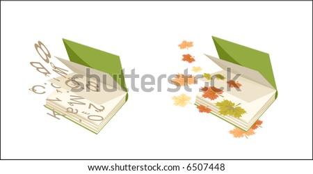 Books (vector) - stock vector