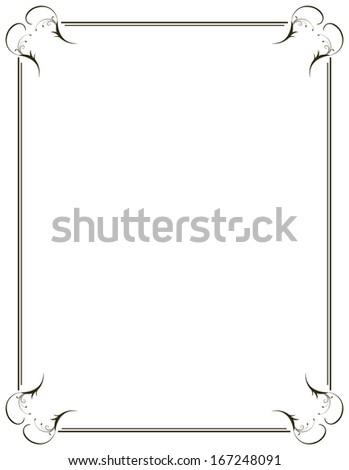 Border Frame - stock vector