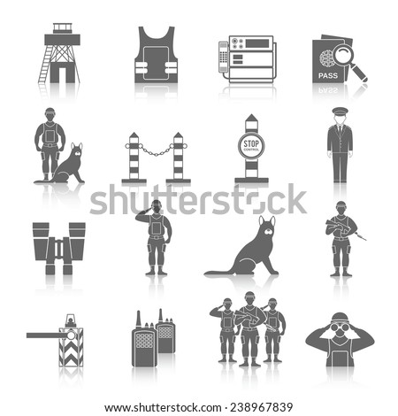 Border Security Stock Images Royalty Free Images
