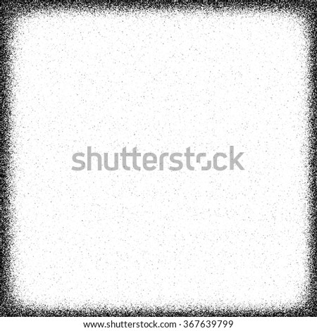 Border in grunge style. Vector illustration. - stock vector