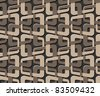 bound seamless pattern - stock photo