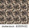 bound seamless pattern - stock photo