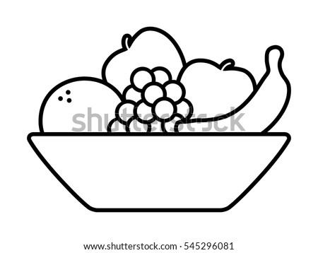 Bowl Of Fruits Clipart | www.pixshark.com - Images ...