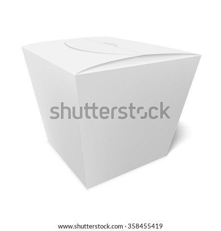 Box of candy, cookies, or a gift. - stock vector