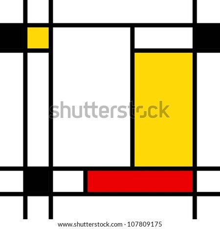 box style repeating pattern - stock vector
