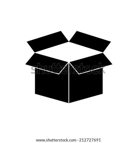 box vector icon - stock vector
