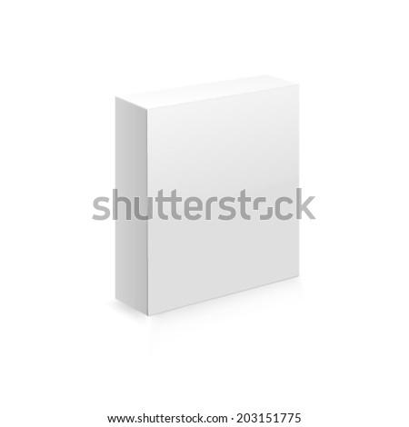 Box. Vector Web - stock vector