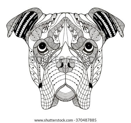 Hand drawn pattern zen art ornate vector lace stock vector