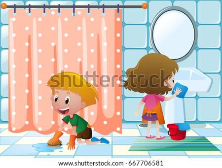 how to clean a bathroo.com