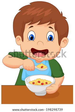 Messy Eating Stock Vectors & Vector Clip Art | Shutterstock