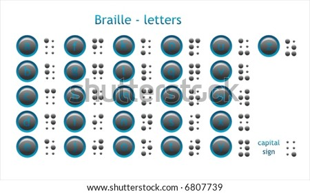 Braille - letters