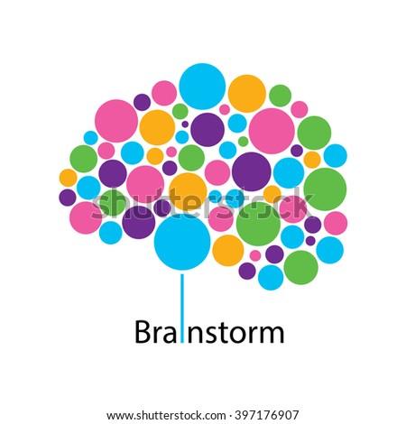 Brain Creative Ideas Logo Design Vector Stock Vector 397176907 ...