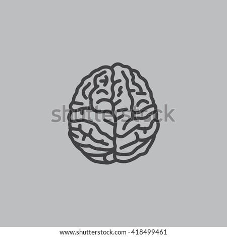 Brain icon, Brain icon eps 10, Brain icon vector, Brain icon illustration, Brain icon jpg, Brain icon picture, Brain icon flat, Brain icon design, Brain icon web, Brain icon art, Brain icon JPG. - stock vector