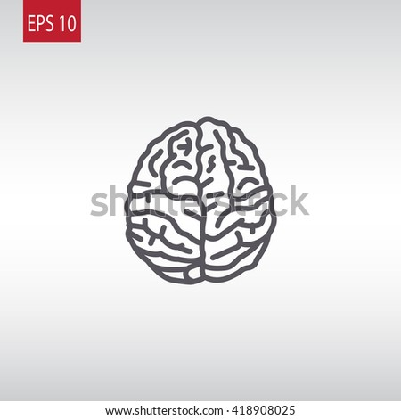 Brain icon, Brain icon eps 10, Brain icon vector, Brain icon illustration, Brain icon jpg, Brain icon picture, Brain icon flat, Brain icon design, Brain icon web, Brain icon art, Brain icon JPG - stock vector