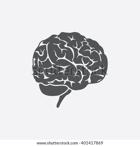 Brain icon. Brain icon vector. Brain icon simple. Brain icon app. Brain icon new. Brain icon logo. Brain icon sign. Brain icon ui. Brain icon draw. Brain icon eps. Brain icon art.Brain icon web.Brain. - stock vector
