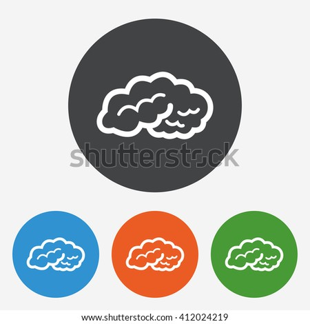 flat brain icon - photo #13